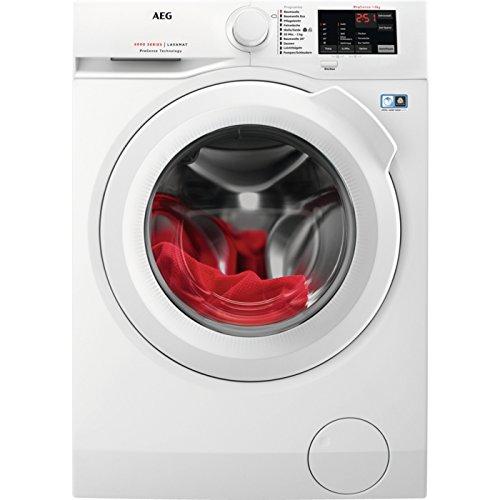 AEG l6fb54488autonome Belastung Bevor 8kg 1400tr/min A + + + Weiß Waschmaschine–Waschmaschinen (autonome, bevor Belastung, weiß, links, LED, 1,5m)