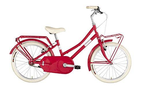 Alpina Bike Olandesina 20', Bicicletta Unisex Bambini, Rosso, 1v