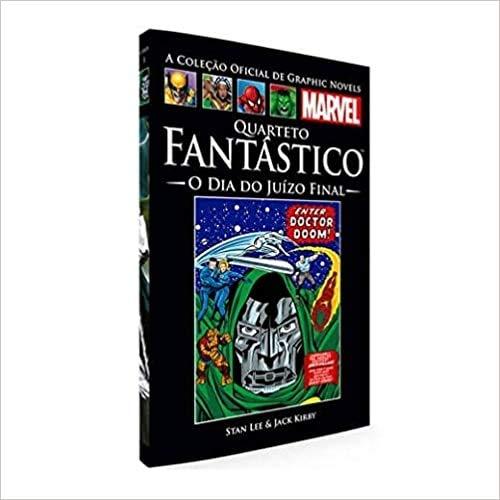 Livro Marvel Quarteto Fantástico - O Dia Do Juízo Final