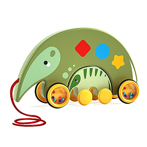 Pull Toy for Toddler, Fun Animal Anteaters Mother and Baby 2 in 1, Interactive Educational Toys Gift...