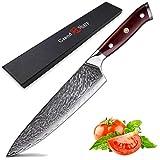 cuchillo de chef Damasco Cuchillo de cocina VG10 Japonés Damasco...