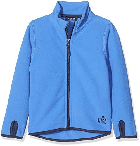 Blue Seven Jungen Fleecejacke mit Daumenloch Jacke, Blau (Blau 523), (Herstellergröße: 92)