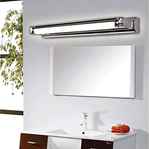 Baska Espejo baño luz luz iluminación iluminación Ahorro de energía lámparas Frontales Frontal Blanco 6000k Impermeable Maquillaje lámpara Accesorios [Clase de energía A +++]