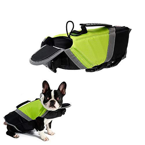 Tineer Chaleco Salvavidas de Dog Life con Relleno Extra de Seguridad Protector...