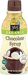 365 Everyday Value, Organic Chocolate Syrup, 15.8 oz