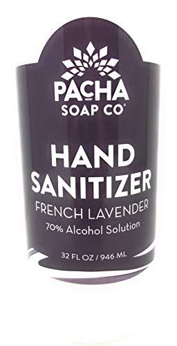 Pacha Soap, Hand Sanitizer French Lavender, 32 Fl Oz