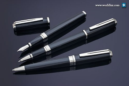 Waterman Exception Slim negro St pluma estilográfica pen-m