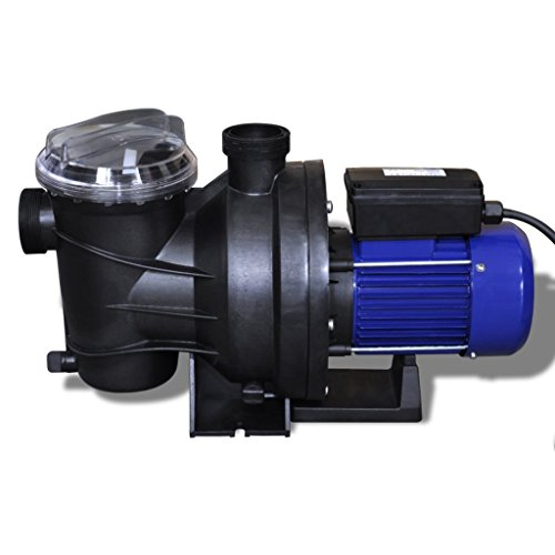 Festnight Pompa Piscina/Pompa di filtrazione elettrica per Piscina 800W Blu