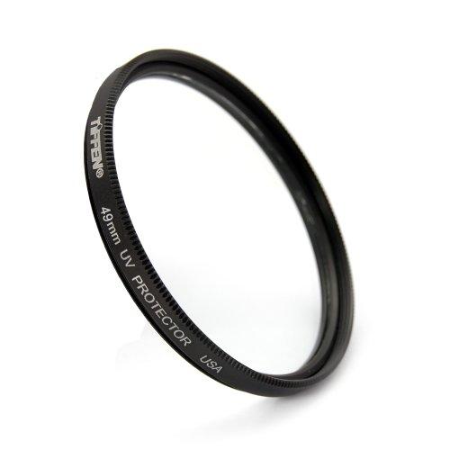 Tiffen 49UVP 49mm UV Protection Camera Lens Filter , Black