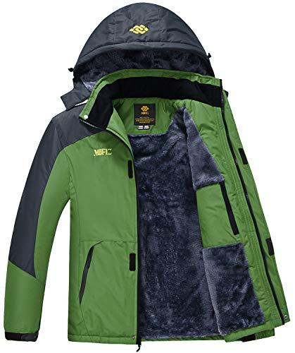 Men's Winter Coat Ski Snowboard Jacket Pants Windproof Waterproof for Winter Sports