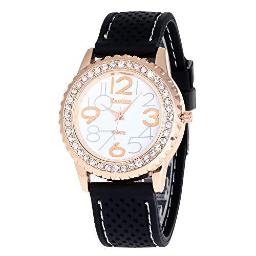 Powzz ornament Smartwatch Orologio in Silicone Hot Men And Women Fashion Fashion Watch personalità Orologio Digitale Orologio al Quarzo @ Bianco