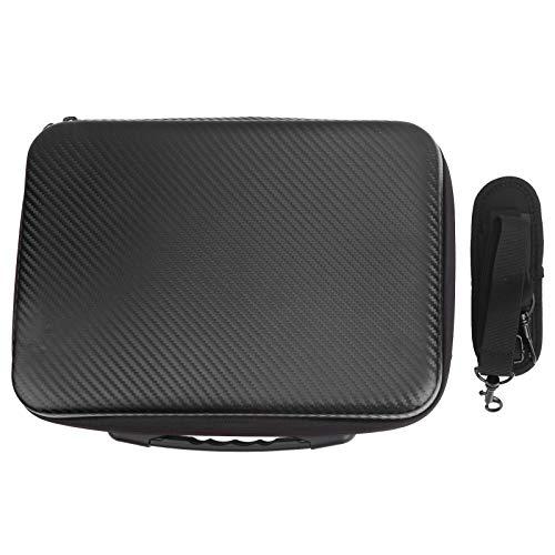 Drone Handbag, Drone Storage Bag, EAV + PU Wear Negro para Cargadores Cables Controles remotos Hélices Spark Drone Drone Accesorio con Correa para el Hombro