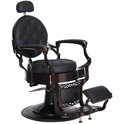BarberPub Friseurstuhl Friseursessel Bedienungsstuhl Friseureinrichtung 3849BK
