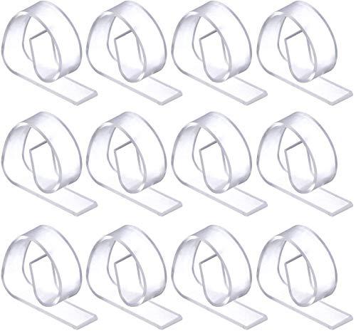 50 Pezzi Clip Tovaglia Trasparente, Clip Fermatovaglia Plastica per Casa, Ristorante, Picnic e Altro Ancora