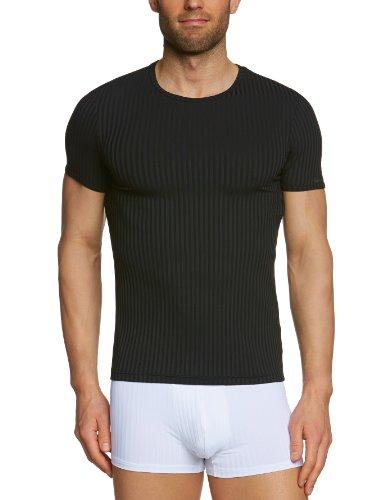 Bruno Banani Herren T-Shirt Regular Fit 2203-1760 7, Gr. 5 (M), Schwarz (7 schwarz)
