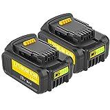 Hochstern 18V 5.0Ah XR Repuesto Batería para Dewalt DCB184 DCB184B-XJ DCB183 DCB183-XJ DCB182 DCB182-XJ DCB181 DCB181-XJ DCB185-XE Power