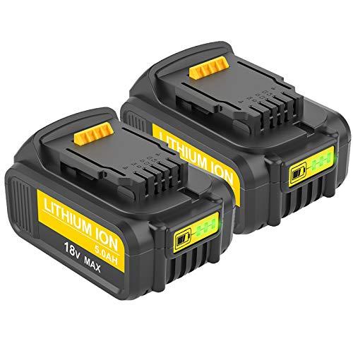 Hochstern 18V 5.0Ah XR Batteria di Ricambio per Dewalt DCB184 DCB184B-XJ DCB183 DCB183-XJ DCB182 DCB182-XJ DCB181 DCB181-XJ DCB185-XE Power
