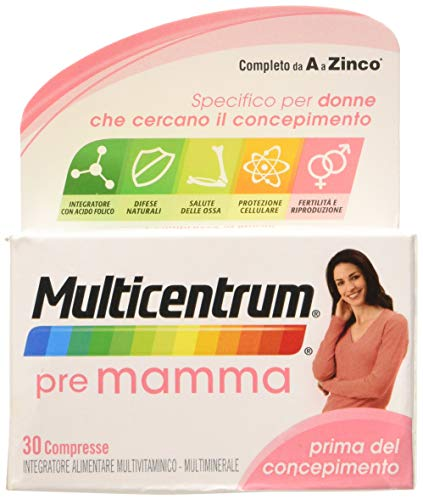 Multicentrum Pre Mamma Mul0100031-30 Compresse