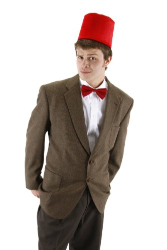 Doctor Who Red Fez with Bowtie