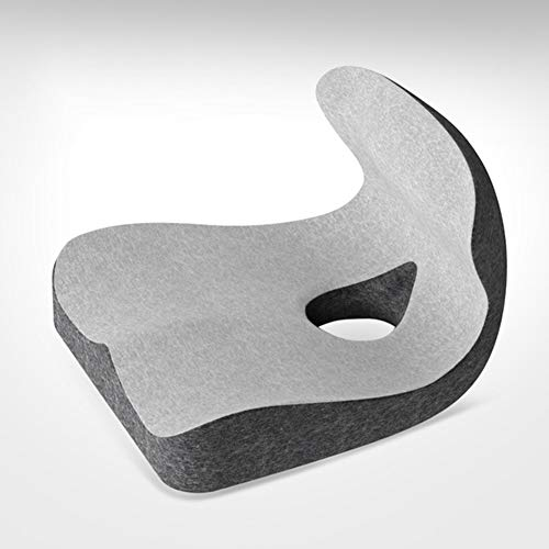 JTYX CUSHIONS memory foam stoelkussen ergonomisch design kantoor taille rugkussen ademend zwangergere mooie heupbekleding auto zitkussen