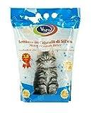 VIRSUS 6 Pezzi LETTIERA SILICIO Gatto sacchette 22,8LT Super Assorbente Antibatterica