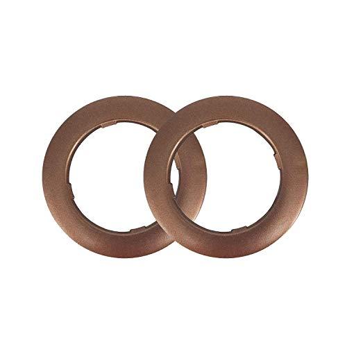 Trimming Shop 42mm kunststof ogen Grommets met ringen voor gordijnen, gordijnen of dekzeilen, 10 sets