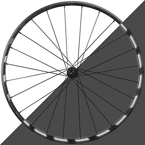 Blackshell Reflektoren Aufkleber – 42 TLG. Set für Fahrrad Felgen - ausreichend für beidseitige Beklebung Einer 27, 28 und 29 Zoll Felge - retroreflektierende Selbstklebende Reflexfolien in schwarz