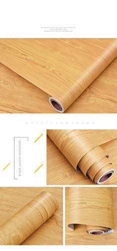 Speedcoming waterdichte behang zelfklevende slaapkamer kast kast houten deur tafel oude meubels gereviseerd hout graan sticker behang White Birch