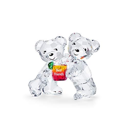 Swarovski Kris Bär - Beste Freunde, Bären Duo in Funkelndem Kristall, mit Liebevoller Gravur