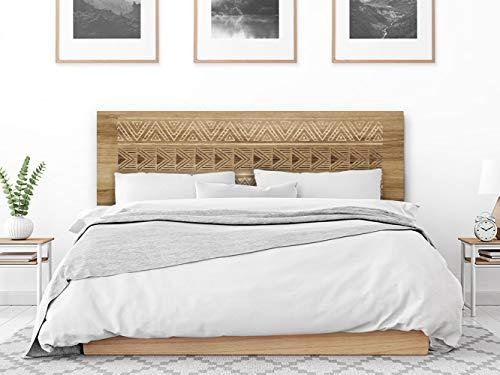 setecientosgramos Cabecero Cama PVC   Signal   Varias Medidas   Fácil colocación   Decoración Dormitorio (200x60)