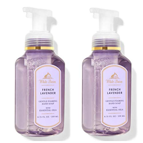 Bath and Body Works Gentle Foaming Hand Soap, French Lavender (2-Pack) 8.75...