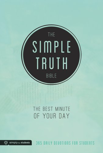 The Simple Truth Bible: The Best Minute of Your Day (365 Daily Devotions for...