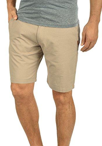 !Solid Thement Herren Chino Shorts Bermuda Kurze Hose Aus 100% Baumwolle Regular Fit, Größe:L, Farbe:Dune (5409)