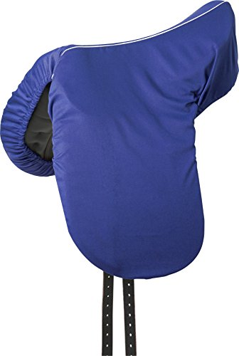Sattelschutzbezug, Baumwolle blau