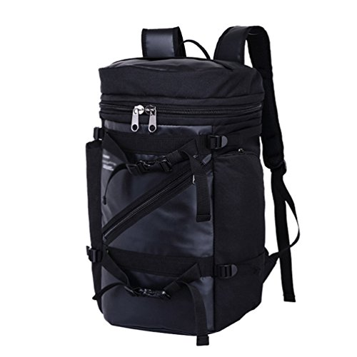 WanYangg Mochila De Exterior Mochila De Camping Ultraligera Resistente Al Agua Portátil Backpack Escuela Para Viajes Al Aire Libre Para Mujeres Hombres Y Niños 3# negro