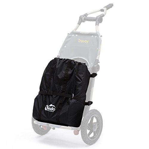 Qeedo Shopping Bag para Burley Travoy - Bolsa de la Compra para Remolque Bicicleta