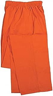 Pants, Inmate Uniforms, Orange, 38 to 42 In
