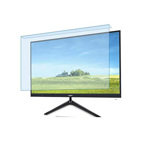 ALGWXQ Protector de Pantalla Acrílico Anti-Rayos Azules Adecuado para LCD, LED, 4K OLED Y QLED 32'- 75' Y Pantalla Curva Filtros Anti Luz Azul Proteger Los Ojos