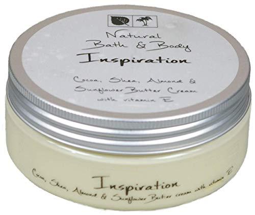 Kakaobutter Creme Handcreme Gesichtscreme INSPIRIEREND & BELEBEND 200 ml mit Sheabutter geeignet auch für sehr trockene Haut