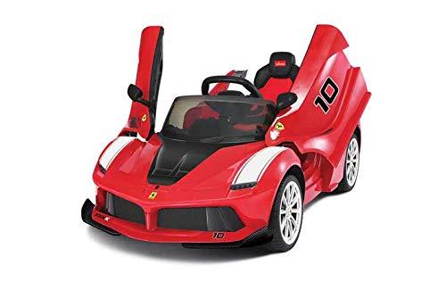 Babycar Ferrari 12 Volt con Telecomando sedili in Pelle e Porte Apribili