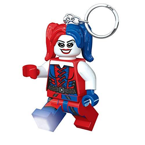 LEGO Lights IQLGL-KE99&nbsp DC Comics Súper Héroes, Harley Quinn, Llavero con luz
