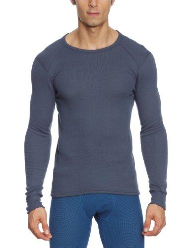 Odlo Herren Shirt Long Sleeve Crew Neck Warm St Funktionsunterwäsche-Unterhemden-Bekleidung, India Ink, S