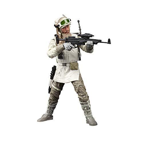 Star Wars The Black Series Rebel Trooper (Hoth) Juguete de Escala de 15.2 cm Star Wars: The Empire Strikes Back Figura de acción Coleccionable, niños a Partir de 4 años