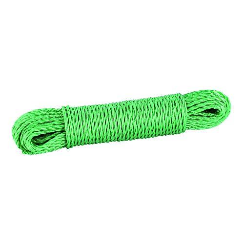 Elliott - Cuerda para tendal (Polipropileno), Color Verde