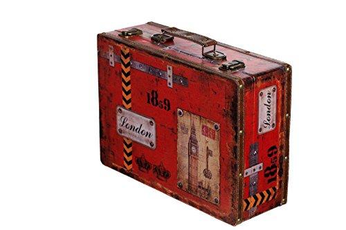 Sarah B Truhe Kiste SJ 15369 Koffer Kofferset Holztruhe Vintage Schatzkiste