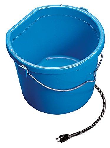 API Heated Bucket Heated Flat Back Bucket, 20 Quart (Item No. 20FB)