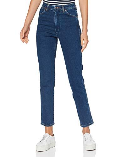 Wrangler Icons Jeans, Blu (6 Mesi), 29W x 34L Donna