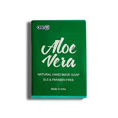 One11 Premium Aloevera Natural Hand Made Soap | Made in India
