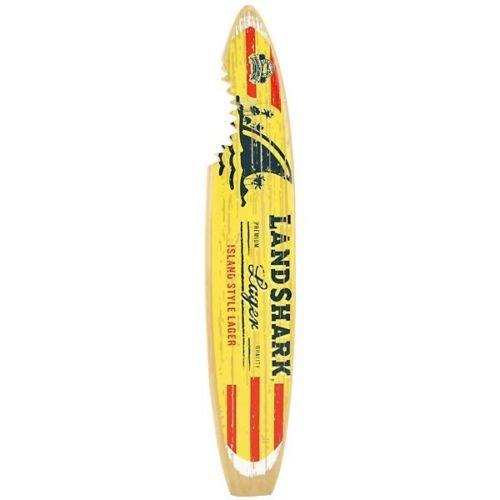Landshark Lager Surfboard 11 in Tap Handle