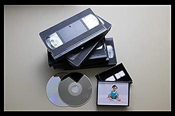 Video Tape Transfer Service  VHS Hi8 Video 8 8mm VHS-C MiniDV  to Digital MP4